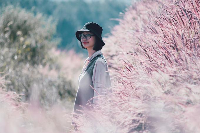 5.Đồi cỏ đuôi chồn hồng rực ở Đà Lạt3