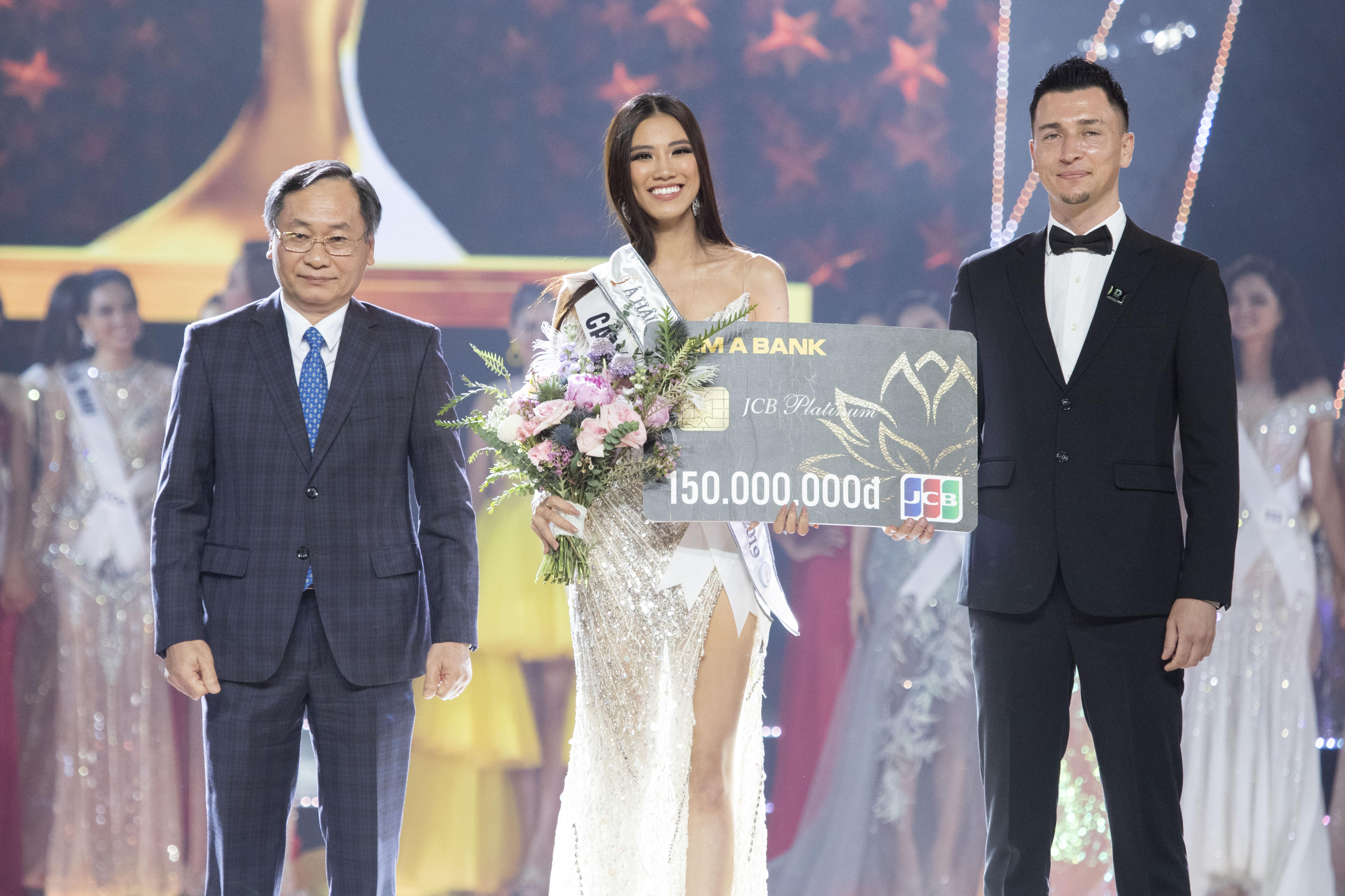 Á hậu 1 Nguyễn Huỳnh Kim Duyên - SBD 203