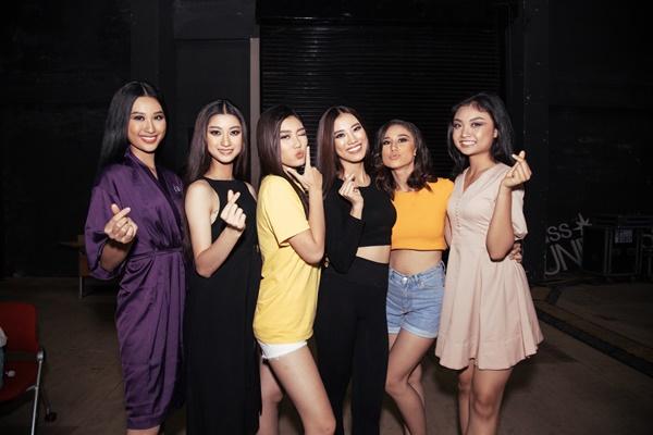 Hau truong tap luyen chuan bi Ban ket Hoa hau Hoan vu Viet Nam 2019 (70)