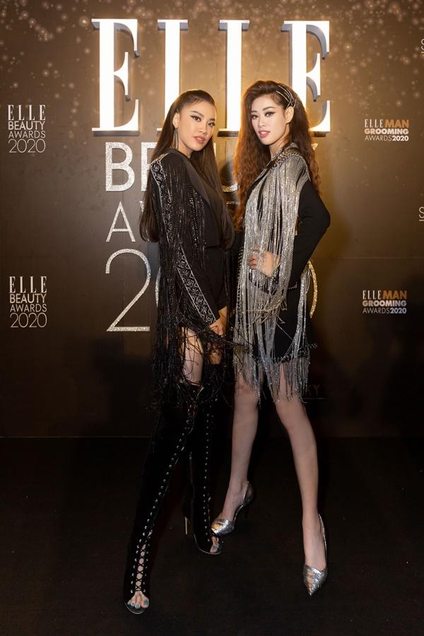 Hoa Hau Khanh Van va A Hau Kim Duyen_Elle Style Awards  (3)
