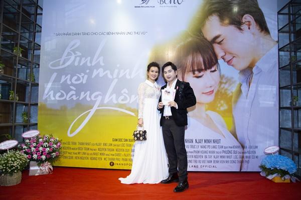 Nghệ sĩ Thiên Kim, ca sĩ Bằng Cường đến chúc mừng Nàng Pơ Lang