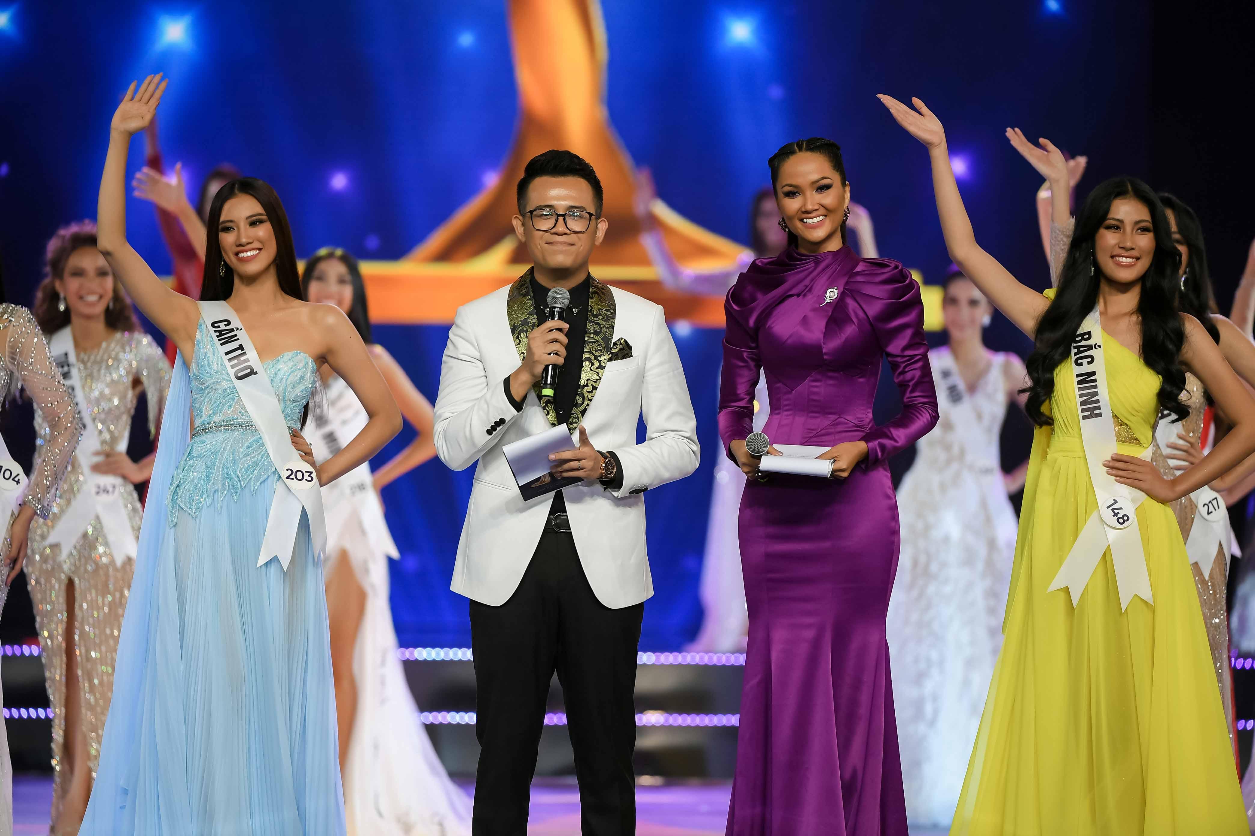 Đêm Bán kết Hoa hậu Hoàn vũ Việt nam 2019 diễn ra thành công tốt đẹp
