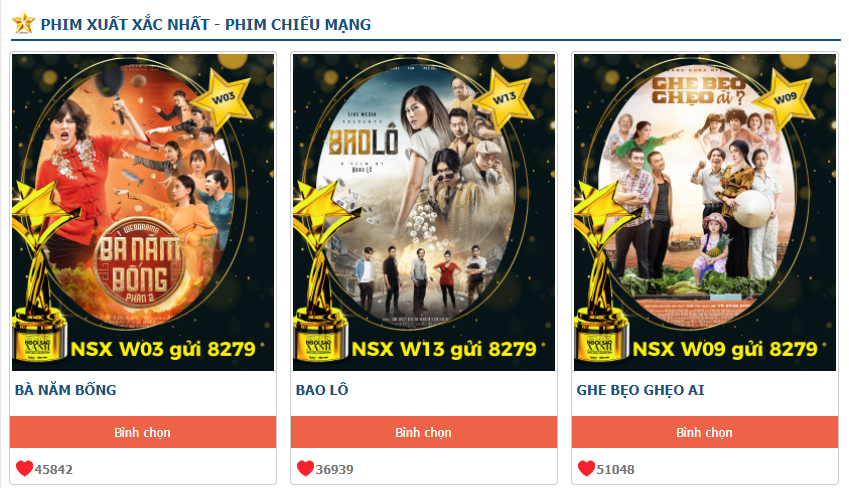 Top 3 phim Web Drama