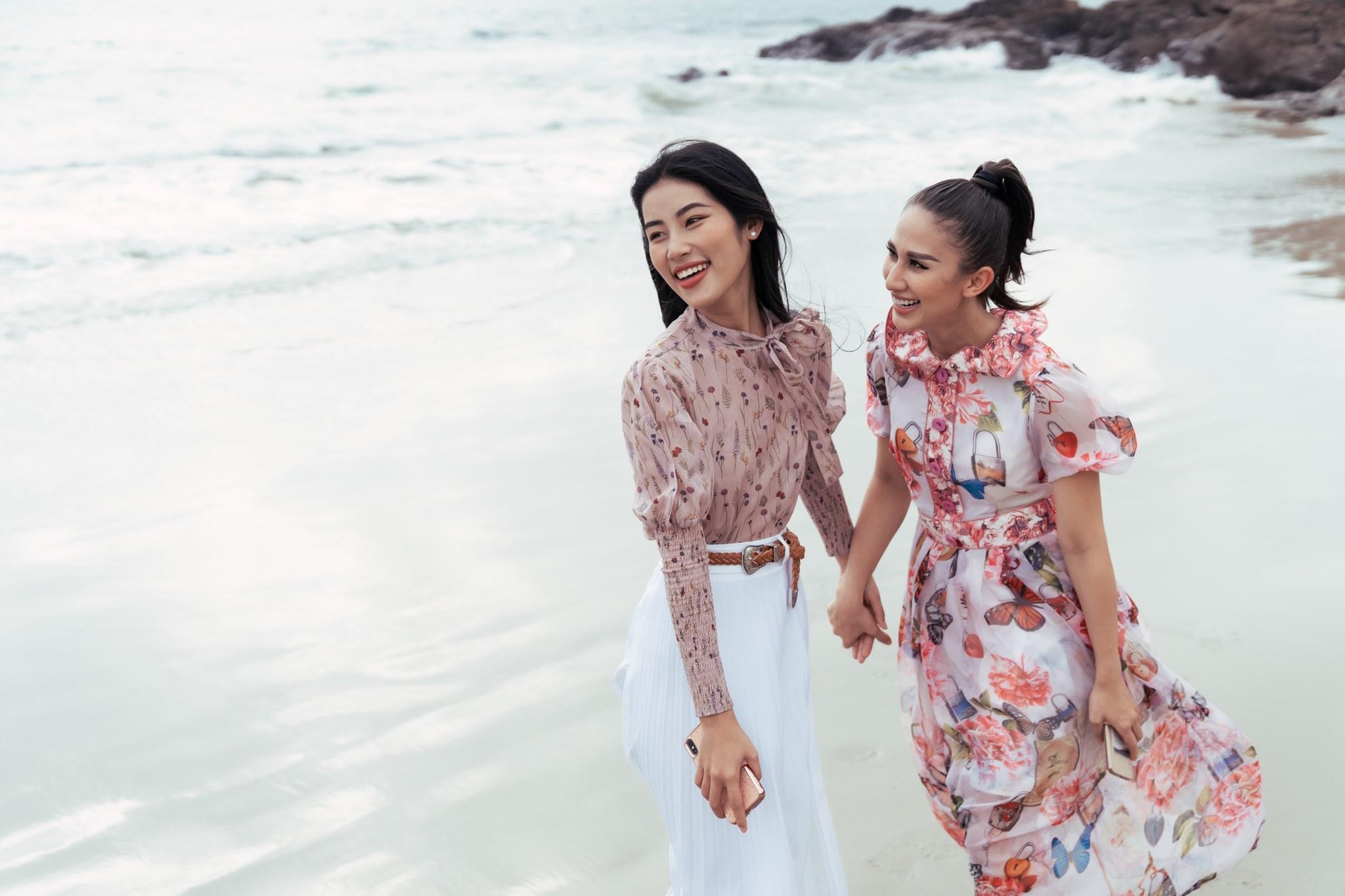 Top 45 thí sinh HHHV Việt Nam 2019 hóa nàng thơ tại bãi biển Nhũ Tiên5
