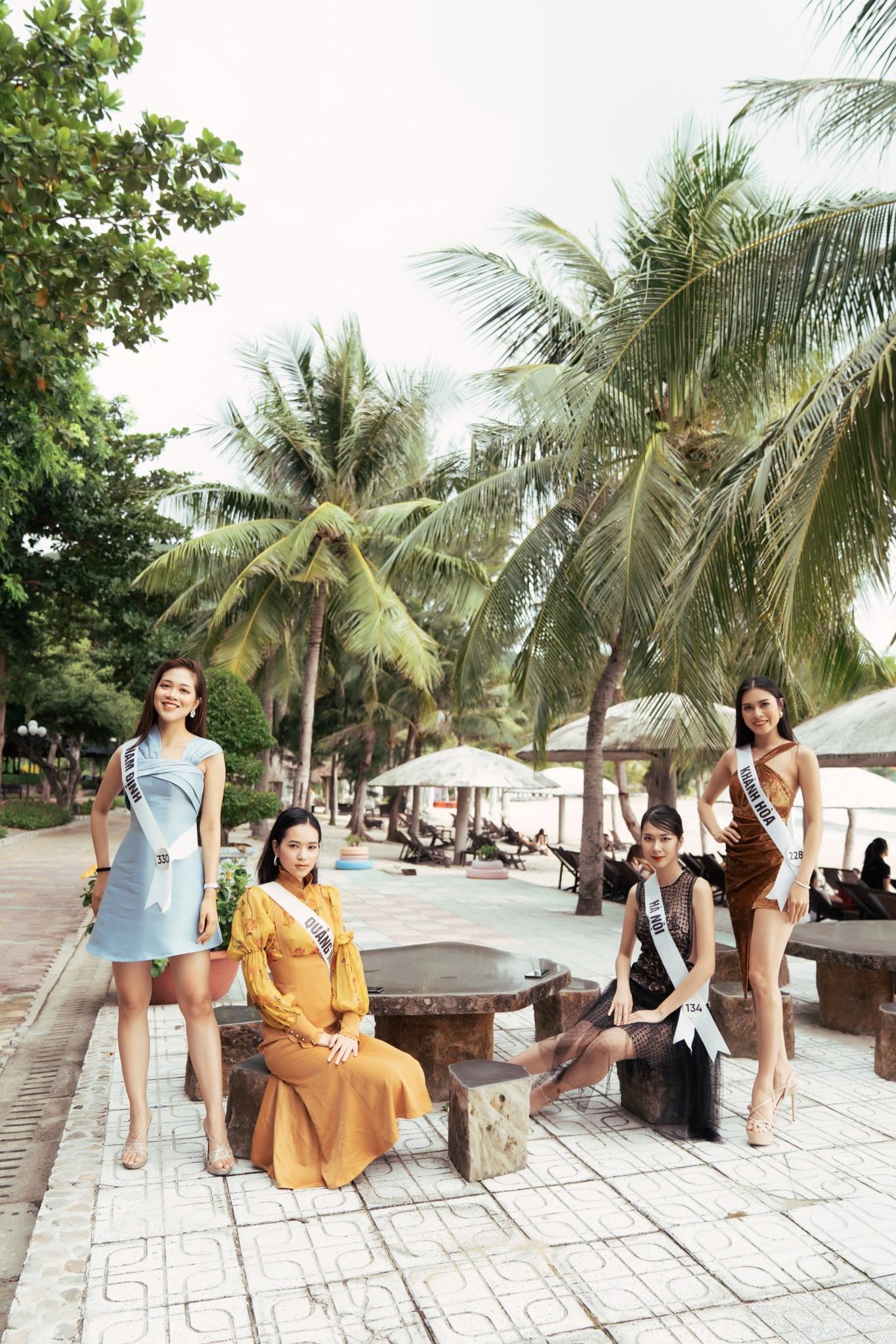 Top 45 thí sinh HHHV Việt Nam 2019 hóa nàng thơ tại bãi biển Nhũ Tiên7