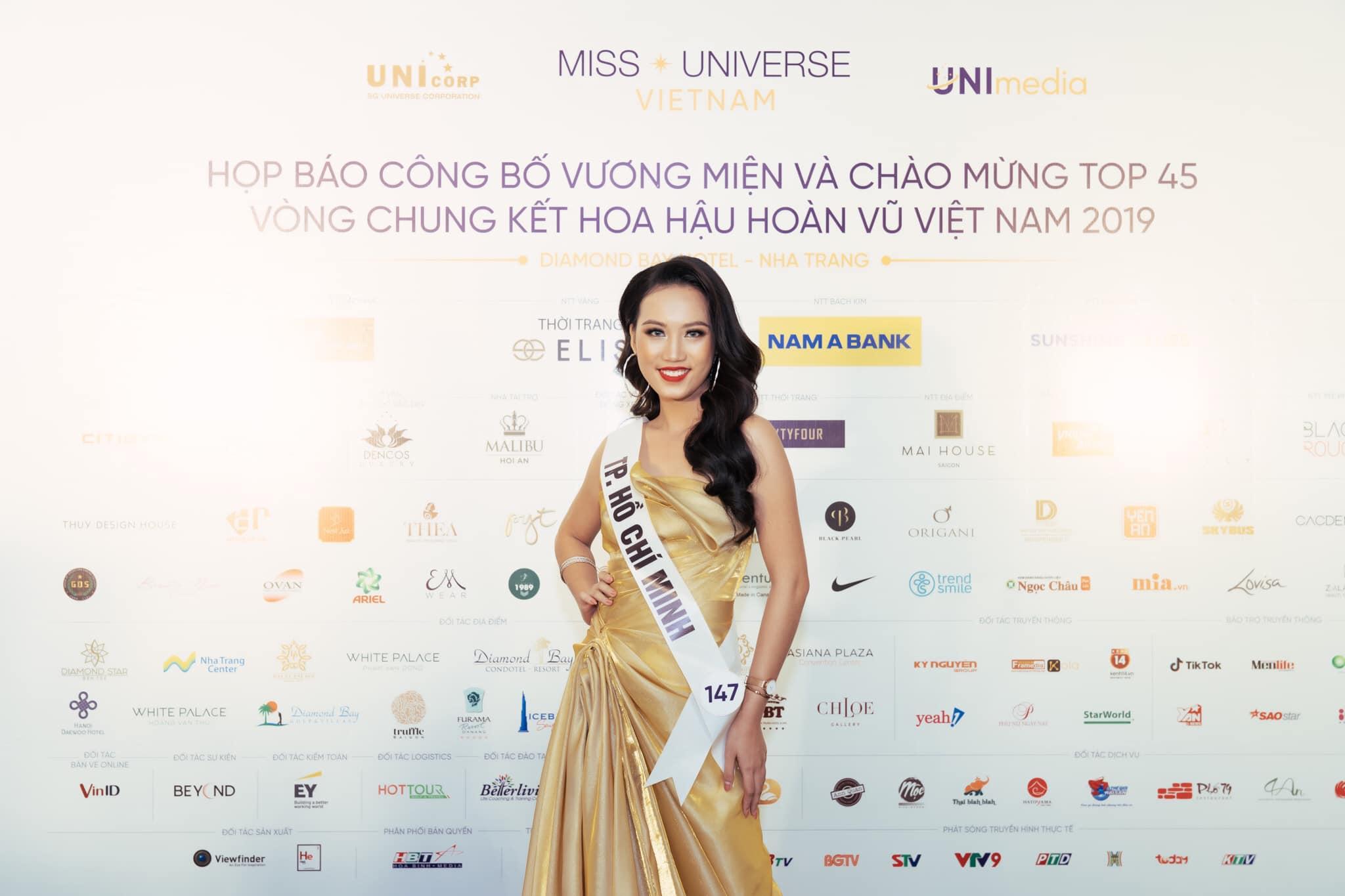 Thí sinh Nguyễn Ngọc Thanh Ngân đến từ TP Hồ Chí Minh