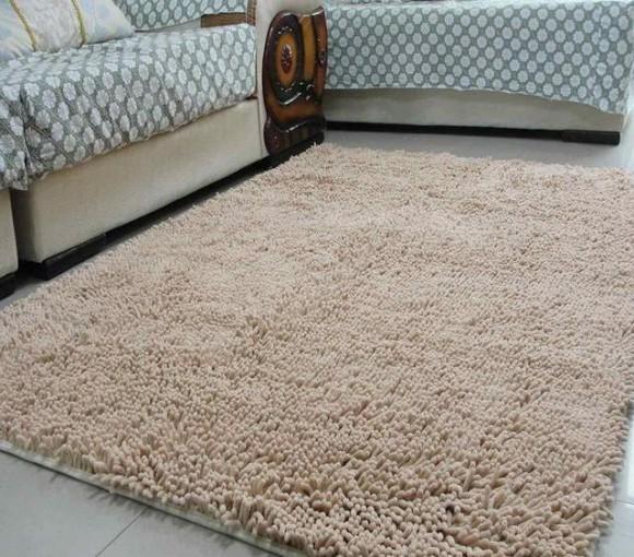 Thảm chứa nhiều bụi bẩn và rất khó để giặt hay vệ sinh