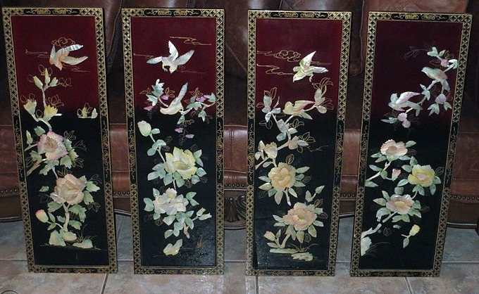 4.Đồ trang trí treo tường giúp tống cựu nghinh tân1