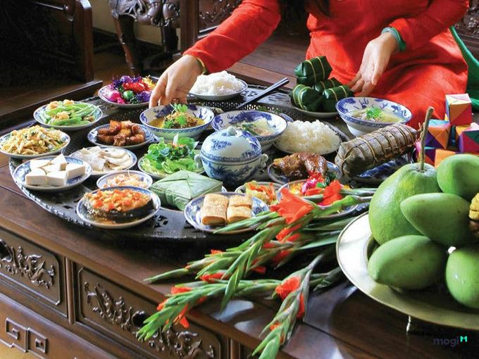 4.Món ăn kiêng kỵ cúng ông Công ông Táo