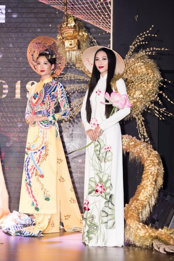 Hoa hậu Thanh Khoa và người đẹp Thu Hiền