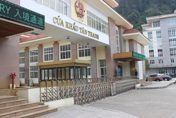 Cửa khẩu Tân Thanh, một trong 9 cửa khẩu dừng giao thương trên địa bàn tỉnh Lạng Sơn - Ảnh: B.NGỌC