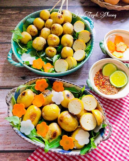 12.Trứng nướng hồ lô