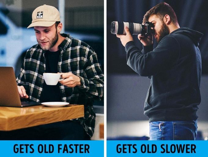 15.8 thói quen khiến bạn già hơn tuổi thật