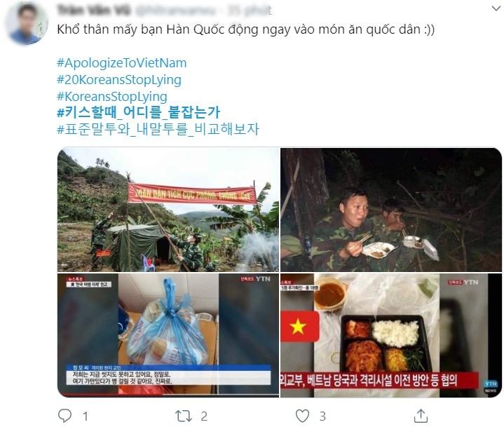 """Cộng đồng mạng thi nhau đòi lại công bằng cho """"món ăn quốc dân"""" với các hashtag bằng cả tiếng Anh và tiếng Hàn"""