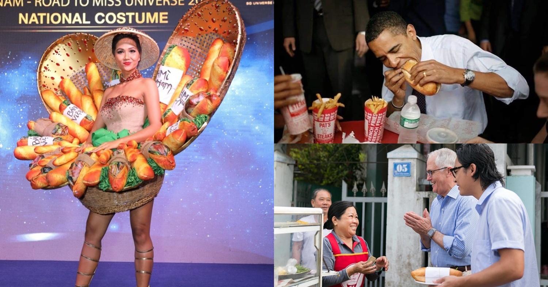 Nhiều người nổi tiếng trên thế giới rất yêu thích bánh mì Việt