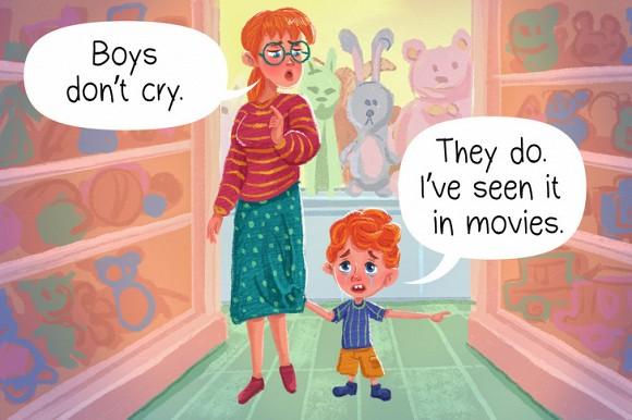 2.Những sai lầm ngay cả những bậc cha mẹ tiên tiến cũng mắc phải trong việc nuôi dạy con trai3