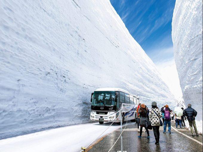 4. Cung đường tuyết 'mái nhà Nhật Bản'