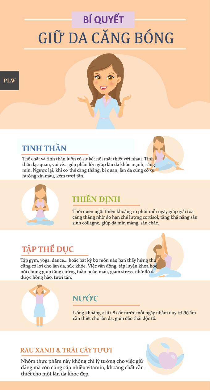 7.5 nguyên tắc giữ da khỏe đẹp