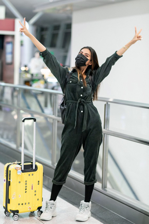7.Sao Việt mặc sành điệu vẫn không quên khẩu trang4