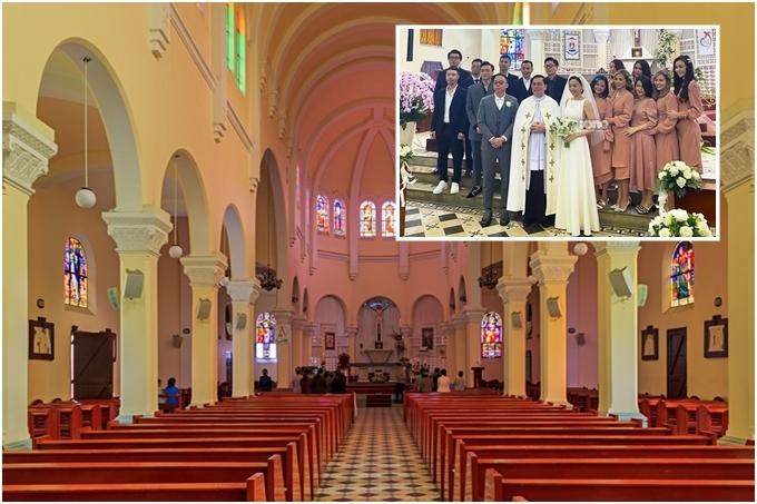 9.Nhà thờ cổ nơi tổ chức hôn lễ của Tóc Tiên2