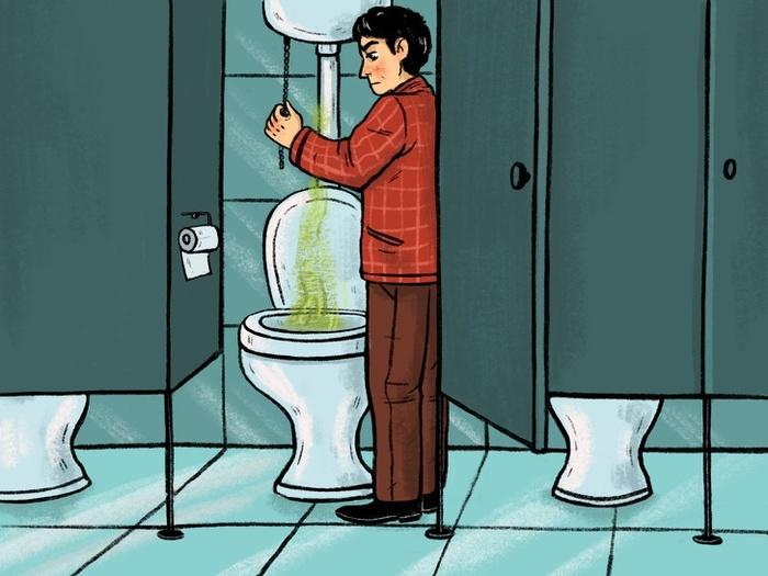 Tại sao cánh cửa nhà vệ sinh công cộng không thiết kế kín4