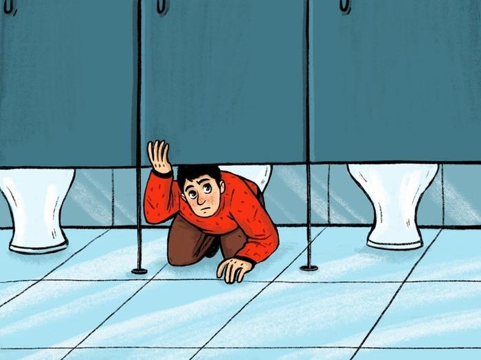 Tại sao cánh cửa nhà vệ sinh công cộng không thiết kế kín5