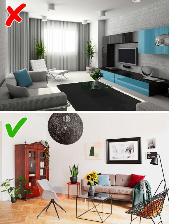 1. Nhà thiết kế bật mí 8 điều tuyệt đối đừng làm sai khi trang trí nhà cửa