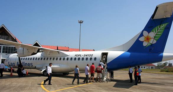 Máy bay ATR 72 của Lao Airlines - Ảnh: Jialiang Gao - Wikipedia