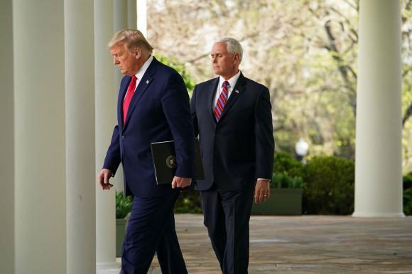 Tổng thống Trump - Ảnh: AFP