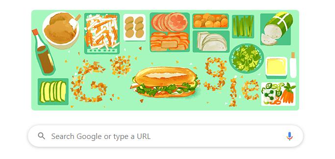 Google Doodle Banh Mi