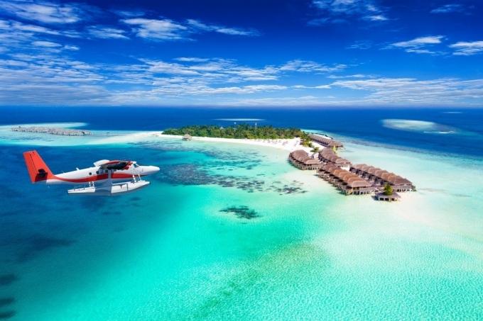 Một khu nghỉ ở Maldives. Ảnh Shutterstock