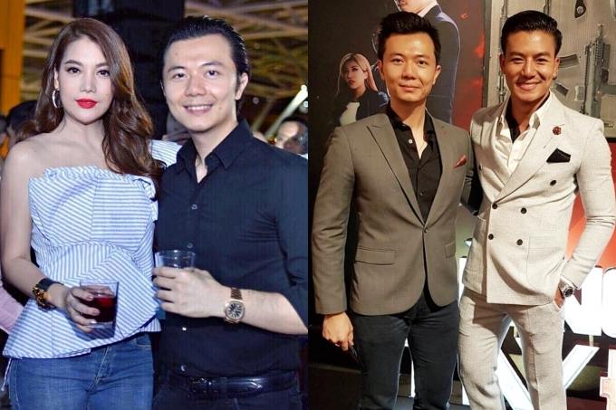 Do đó, anh có mối quan hệ thân thiết với nhiều diễn viên như Trương Ngọc Ánh, Hiếu Nguyễn...