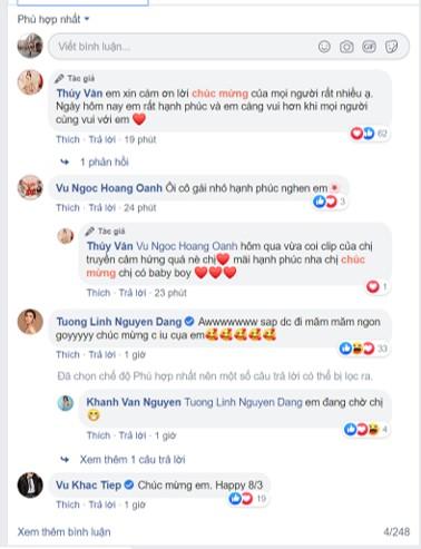 Nhiều bình luận chúc mừng nàng Á hậu