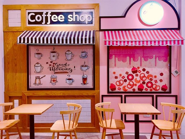 cafe bánh bèo