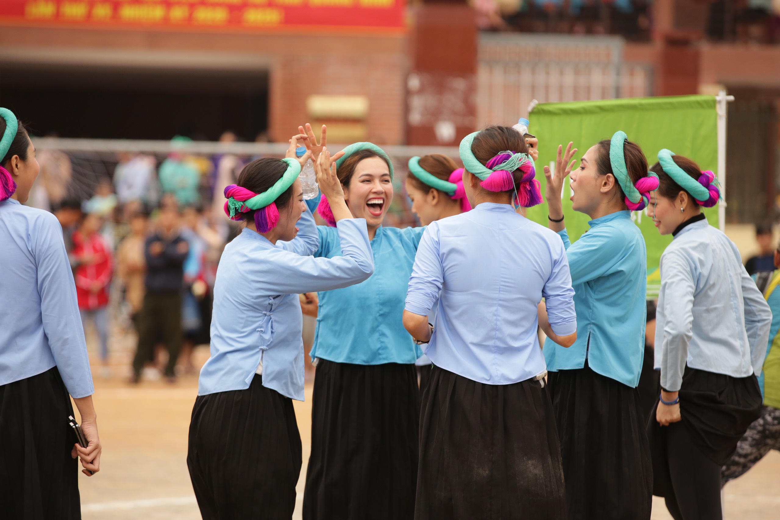 Nguoi dep Vietnam Why Not tham gia da banh27