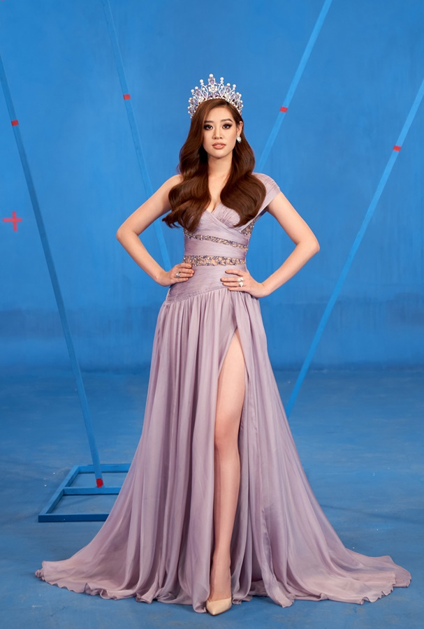 Hoa hau Khanh Van_Hinh hieu Road To Miss Universe 202035