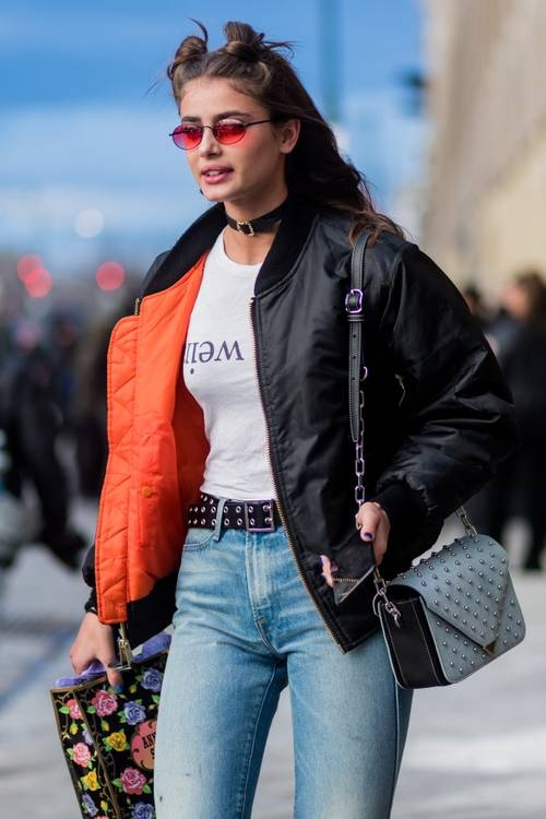 Street Style - New York Fashion Week February 2017 - Day 7