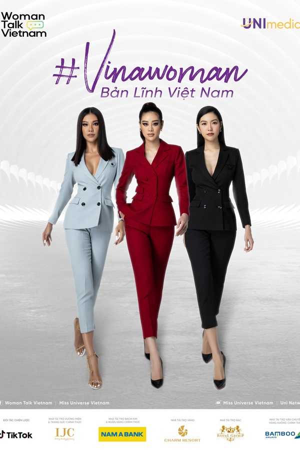 Poster digital series Vinawoman