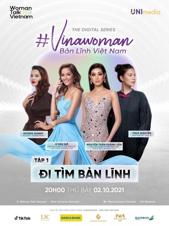Poster tap 1 digital series VINAWOMAN